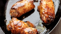 Sticky Glaze Chicken Thighs with Asian Stuffing - Kevin Dundon shares a step  by step guide to recreate this Asian-inspired dish