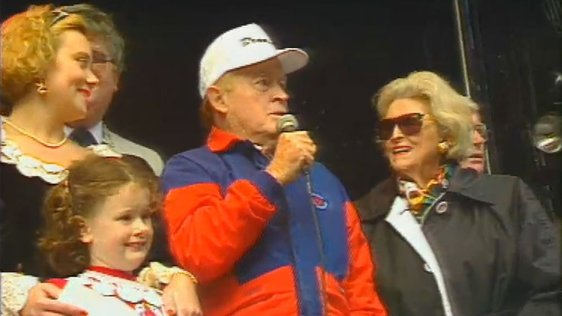 Bob Hope at Galway Oyster Festival, 1993