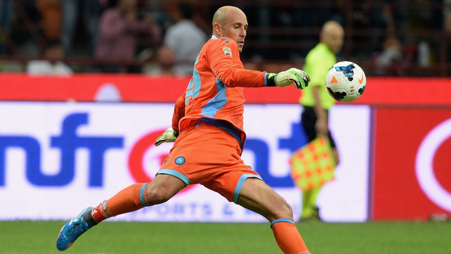 Jose Reina may yet return to Anfield after his loan spell with Napoli ends