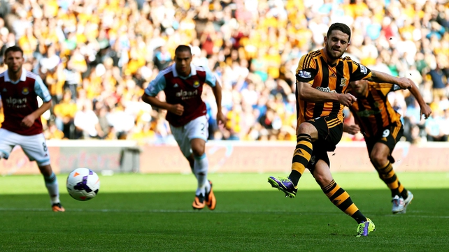 Injury absentee Robbie Brady has been in fine form for Hull since the start of the season