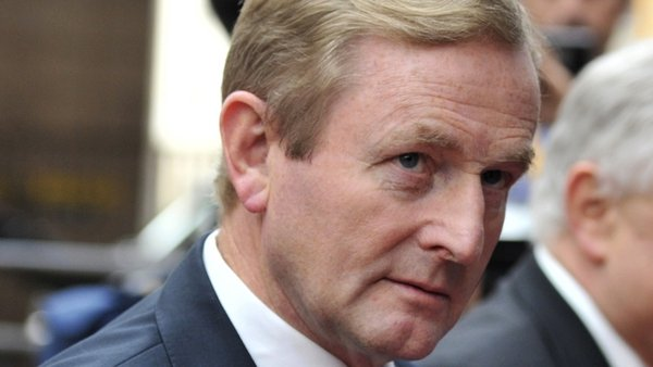 Enda Kenny warned that eurozone leaders should stick to a commitment made in June 2012 to help Irish banks