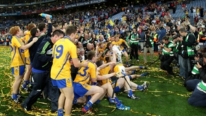 Clare celebrate their triumph