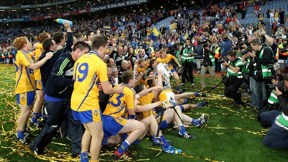 Clare celebrate their triumph
