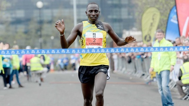 Wilson Kipsang has set a new marathon world record in Berlin
