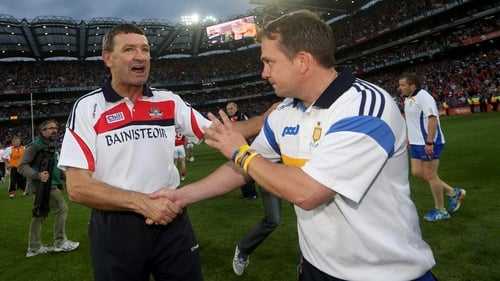 Jimmy Barry Murphy (left) has hailed his team and praised All-Ireland winners Clare