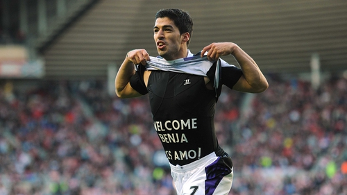 Luis Suarez insists he has learned to control his temper on the pitch