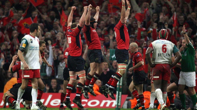 Munster won the Heineken Cup for the first time in 2006