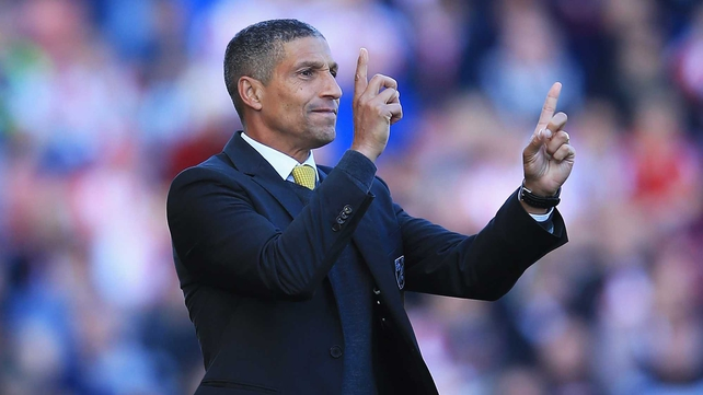 Chris Hughton: 'The burden of results is always on you as a manager, but you have to be able to cope with that and have belief'
