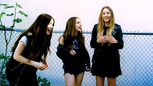 Haim as shot by Tom Beard