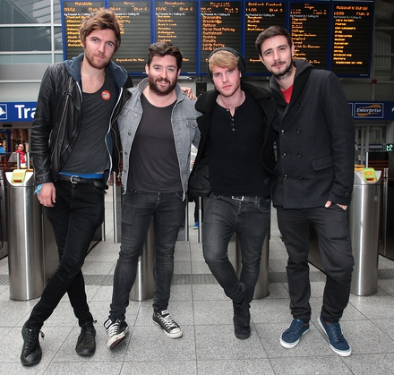 Kodaline at Connolly station