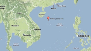 Three fishing boats were hit by Typhoon Wutip near the Paracel Islands (Pic: Google)