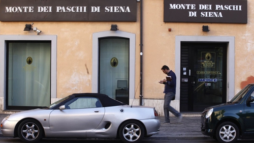 Italy is in talks with the EU to allow public support for its weakest banks, including Monte dei Paschi di Siena
