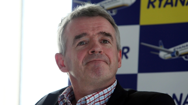 Michael O'Leary agreed that the Ryanair website was 'awful'