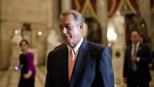 House speaker John Boehner expressed his relief following the deal