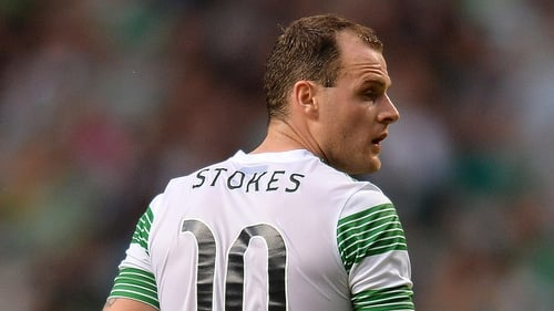 Anthony Stokes has extended his stay with Celtic until