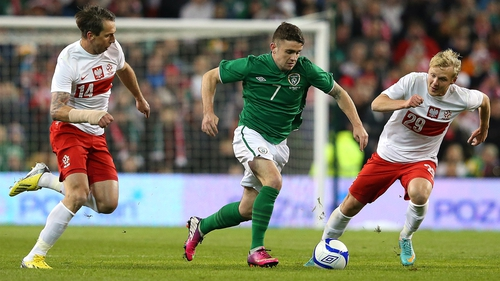 Robbie Brady will be sidelined for four weeks