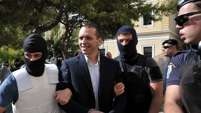 Golden Dawn spokesman Ilias Kasidiaris was released on €50,000 bail
