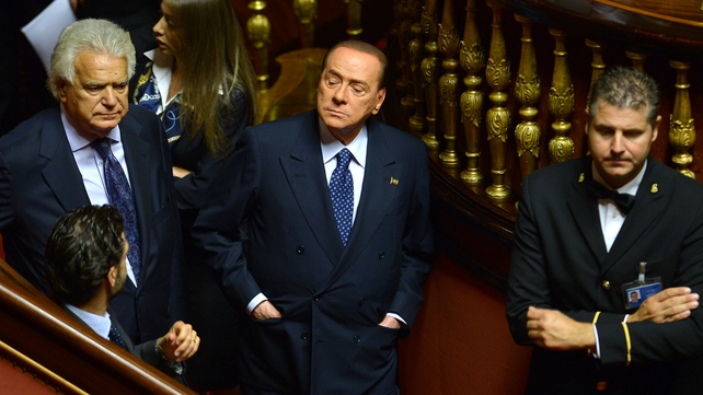 Silvio Berlusconi was given a four-year sentence in August, commuted to one year, to be served under house arrest or in community service due to his age