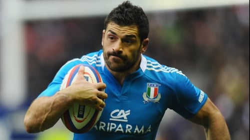 Andrea Masi is in danger of missing the Six Nations