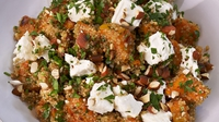 Nutty Quinoa Salad - Recreate Rachel Allen's beautiful nutty quinoa salad by following her step by step guide
