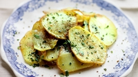 Sauteed Garlic Potatoes - A great, and simple, alternative to chips or fries