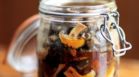 Pickled Forest Mushrooms - Pickled mushrooms are wonderful served with hot meals or as a base for fish