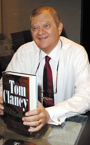 Best-selling author Tom Clancy died at age 66