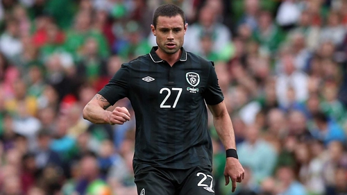 Damien Delaney has been called up to the Ireland squad
