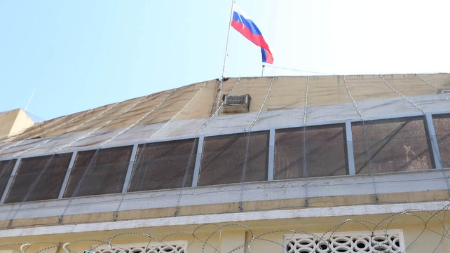 No Russian diplomats were reported injured in the attack