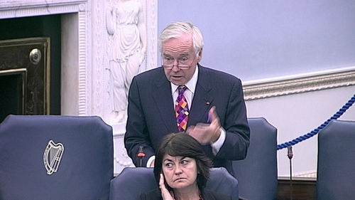 Senator Feargal Quinn proposed the bill on upward-only rent reviews