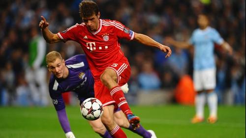 Bayern striker Thomas Muller not Old Trafford-bound