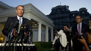 John Boehner said Barack Obama refused to negotiate