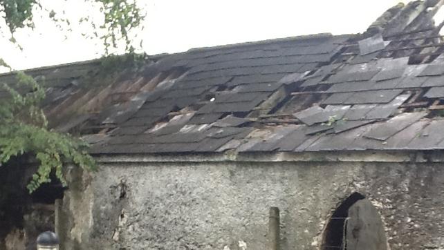 This damage was done in Clonfert