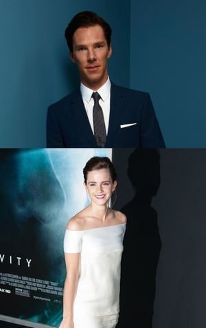 Benedict Cumberbatch and Emma Watson were named the sexiest stars in the world