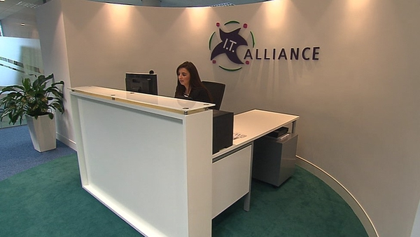 The IT Alliance Group is creating 75 jobs over the next year at its new global headquarters in Dublin