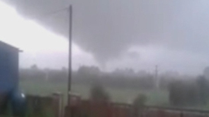 Locals captured the cloud on video as it made its way through Clonfert