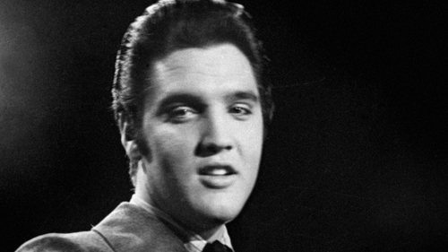 Elvis Presley in his rock 'n roll heyday - now his string treatment has whooshed him back to Number One