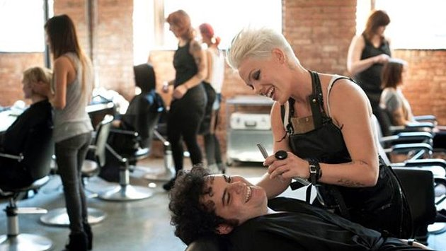 Singer Pink is strikingly impressive as sex addict hairdresser Dede