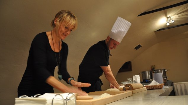 Cookery classes are available at Hotel Gdansk