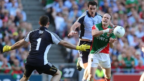 Dublin's Stephen Cluxton and Michael Darragh Macauley are in the mix to be named Player of the Year for 2013