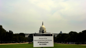 The US government shutdown has forced the closure of all national parks across the country