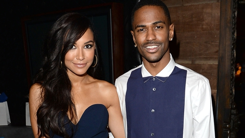 Naya Rivera and fiance Big Sean