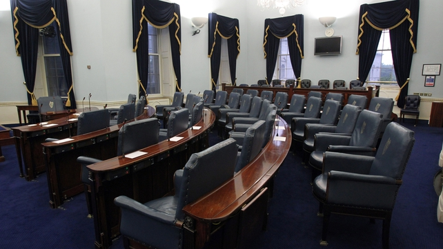 The Upper House of the Oireachtas met 12 times fewer compared to the period prior to the referendum