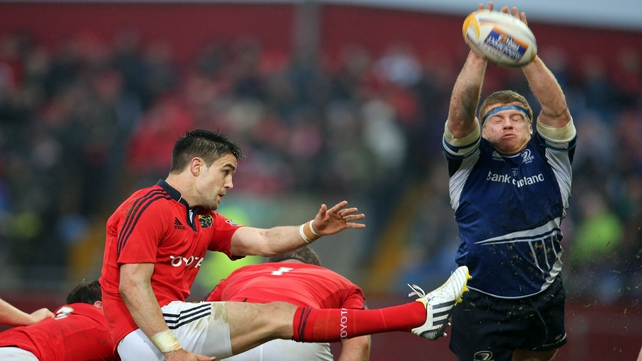 Conor Murray in action for Munster earlier this year