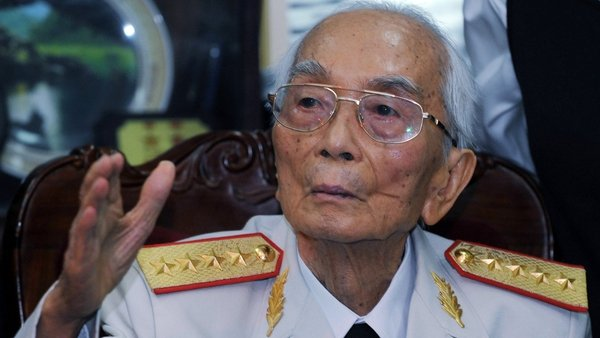Vo Nguyen Giap has died aged 102