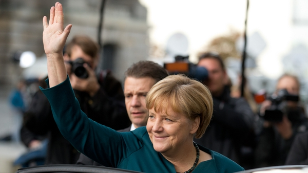 The SPD is seen as the likely partner for Angela Merkel's Christian Democrats