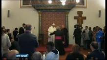 Pope visits home of namesake in Assisi