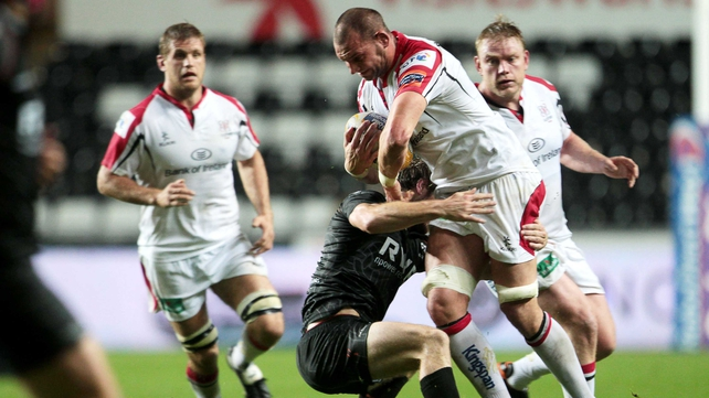Dan Tuohy starts in the second row for Ulster