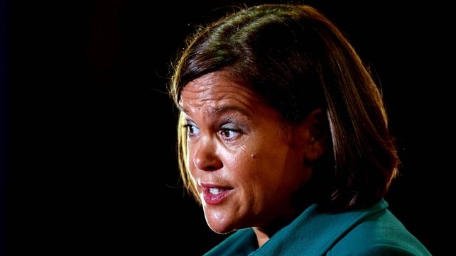 Mary Lou McDonald said Sinn Féin has had a set policy on abortion for 20 years
