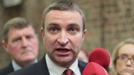 Fianna Fail's Justice Spokesman Niall Collins